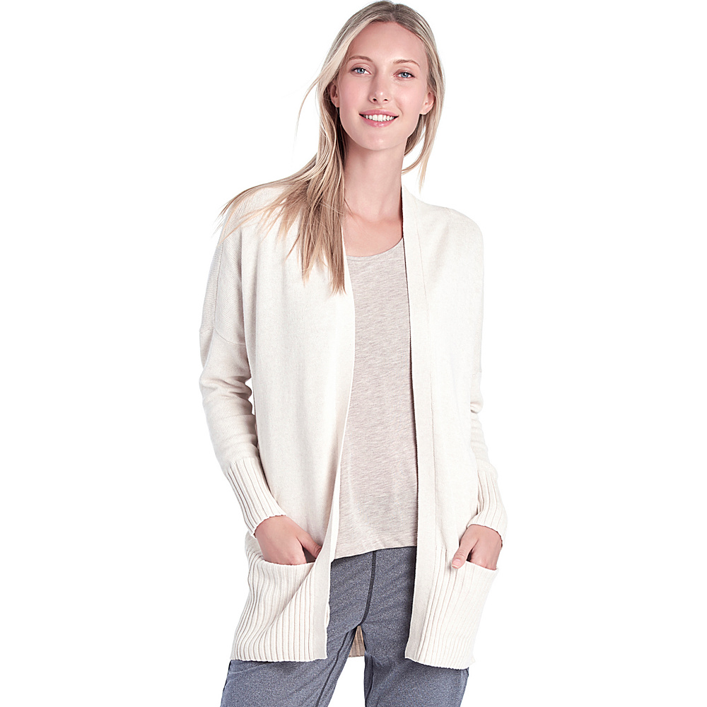 Lole Sachin Cardigan XL - Gelato Heather - Lole Womens Apparel - Apparel & Footwear, Women's Apparel