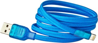 BUQU Cordz 10' Lightning USB Cable Blue - BUQU Electronic Accessories