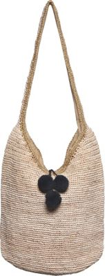 Gottex Majorette Tote Natural/Gold - Gottex Fabric Handbags