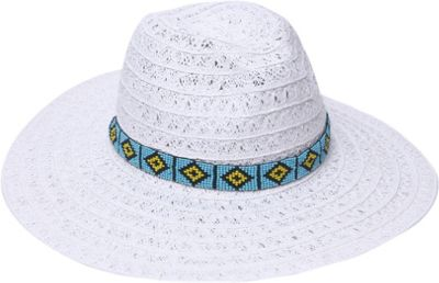 Ale by Alessandra Carico Hat One Size - White - Ale by Alessandra Hats/Gloves/Scarves