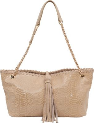 BUCO Small Iguana Tote Oyster - BUCO Leather Handbags