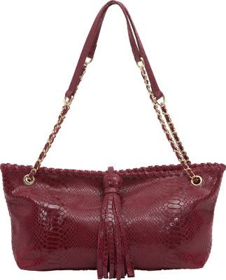 BUCO BUCO Small Iguana Tote Bordeaux - BUCO Leather Handbags
