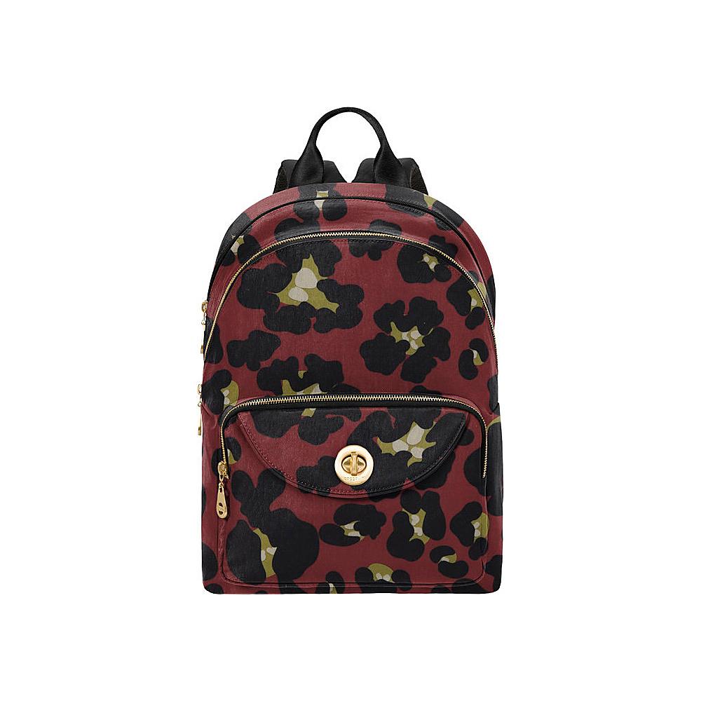 baggallini Brussels Laptop Backpack - Retired Colors Scarlet Cheetah - baggallini Business & Laptop Backpacks - Backpacks, Business & Laptop Backpacks