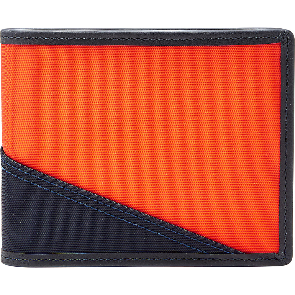 Fossil Owen RFID Bifold Navy - Fossil Mens Wallets - Work Bags & Briefcases, Men's Wallets