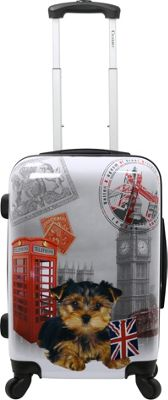 Chariot UK 20''  Hardside Spinner Carry On UK - Chariot Hardside Carry-On