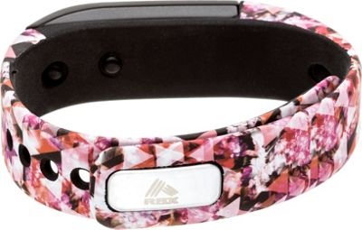 RBX TR1 Printed Activity Tracker with Call & Message Display Pink - RBX Wearable Technology