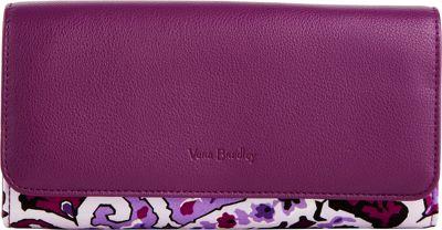 Vera Bradley RFID Audrey Wallet Lilac Paisley - Vera Bradley Women's Wallets