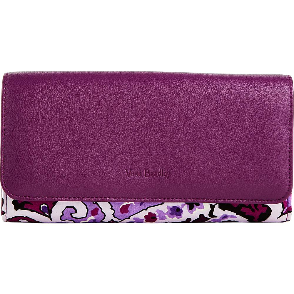 Vera Bradley RFID Audrey Wallet Lilac Paisley - Vera Bradley Womens Wallets - Women's SLG, Women's Wallets