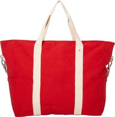 Shorebags Edgewater Duffel Cherry Red - Shorebags Luggage Totes and Satchels