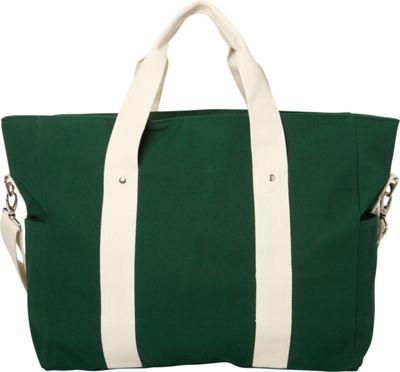 Shorebags Edgewater Duffel Emerald Green - Shorebags Luggage Totes and Satchels