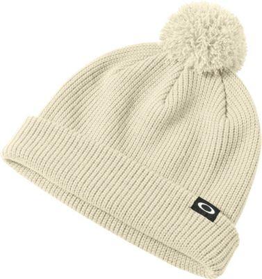 Oakley Riviera Pom Beanie One Size - Arctic White - Oakley Hats/Gloves/Scarves