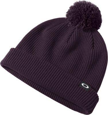 Oakley Riviera Pom Beanie Deep Plum - Oakley Hats/Gloves/Scarves