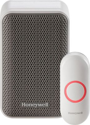 Honeywell Portable Wireless Doorbell & Push Button White - Honeywell Smart Home Automation