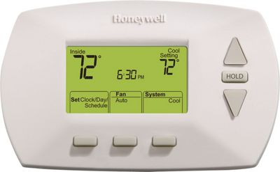 Honeywell 5-1-1 Day Programmable Thermostat White - Honeywell Smart Home Automation