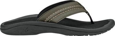 OluKai Mens Hokua Sandal 8 - Kona/Black - OluKai Men's Footwear