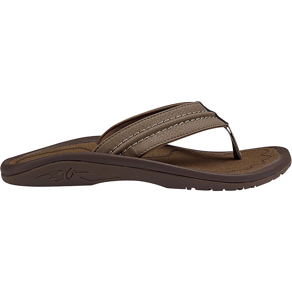 OluKai Mens Hokua Sandal 7 - Mustang/Mustang - OluKai Mens Footwear - Apparel & Footwear, Men's Footwear