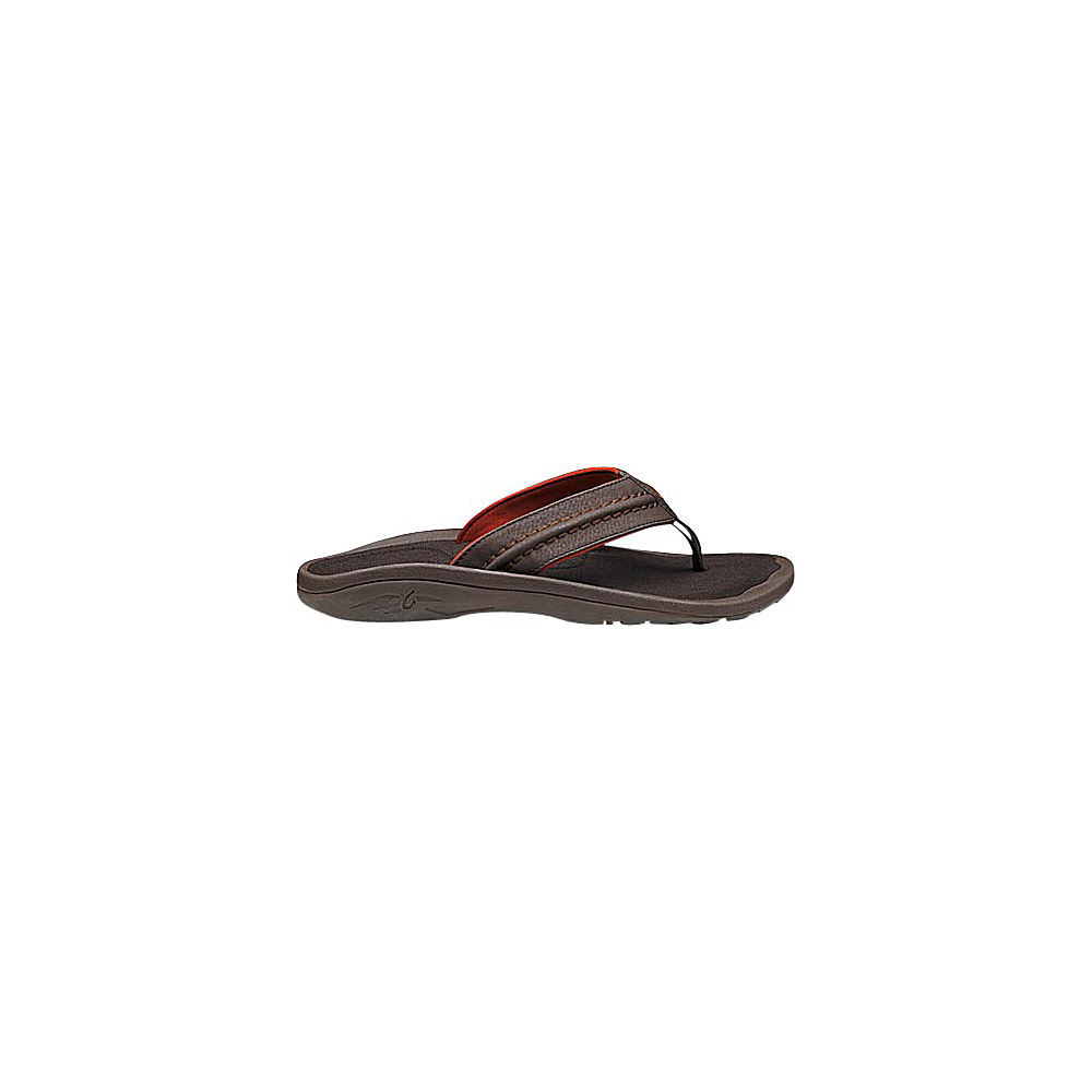 OluKai Mens Hokua Sandal 14 - Dark Java/Dark Java - OluKai Mens Footwear - Apparel & Footwear, Men's Footwear