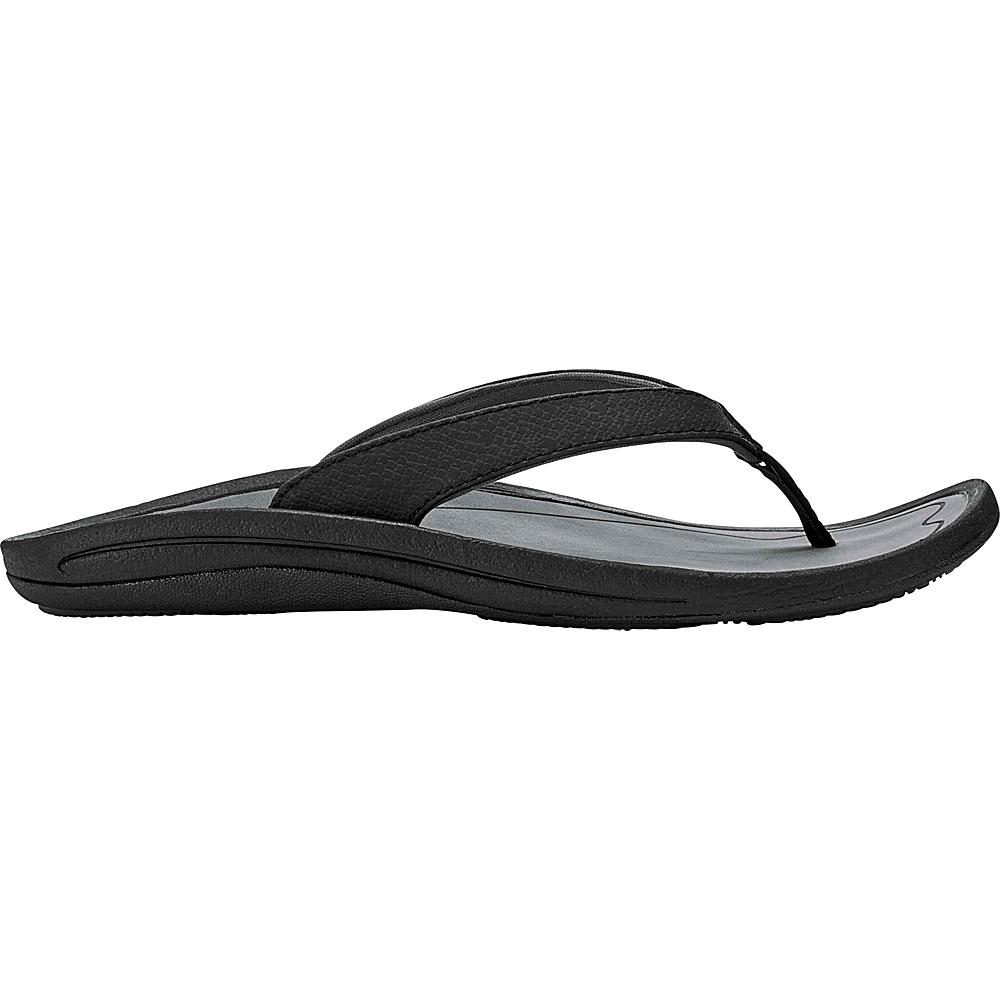 OluKai Womens Kulapa Kai Sandal 7 - Nero/Pavement - OluKai Womens Footwear - Apparel & Footwear, Women's Footwear