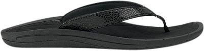 OluKai Womens Kulapa Kai Sandal 7 - Black/Black - OluKai Women's Footwear