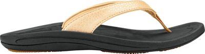 OluKai Womens Kulapa Kai Sandal 8 - Bubbly/Black - OluKai Women's Footwear 10520789