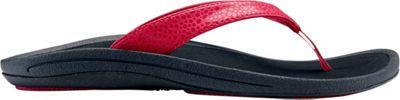 OluKai Womens Kulapa Kai Sandal 8 - Crimson/Black - OluKai Women's Footwear 10520803