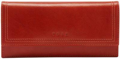 TUSK LTD Gusseted Clutch Wallet Pumpkin - TUSK LTD Women's Wallets