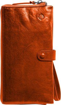 Old Trend Savanna Clutch Cognac - Old Trend Women's Wallets