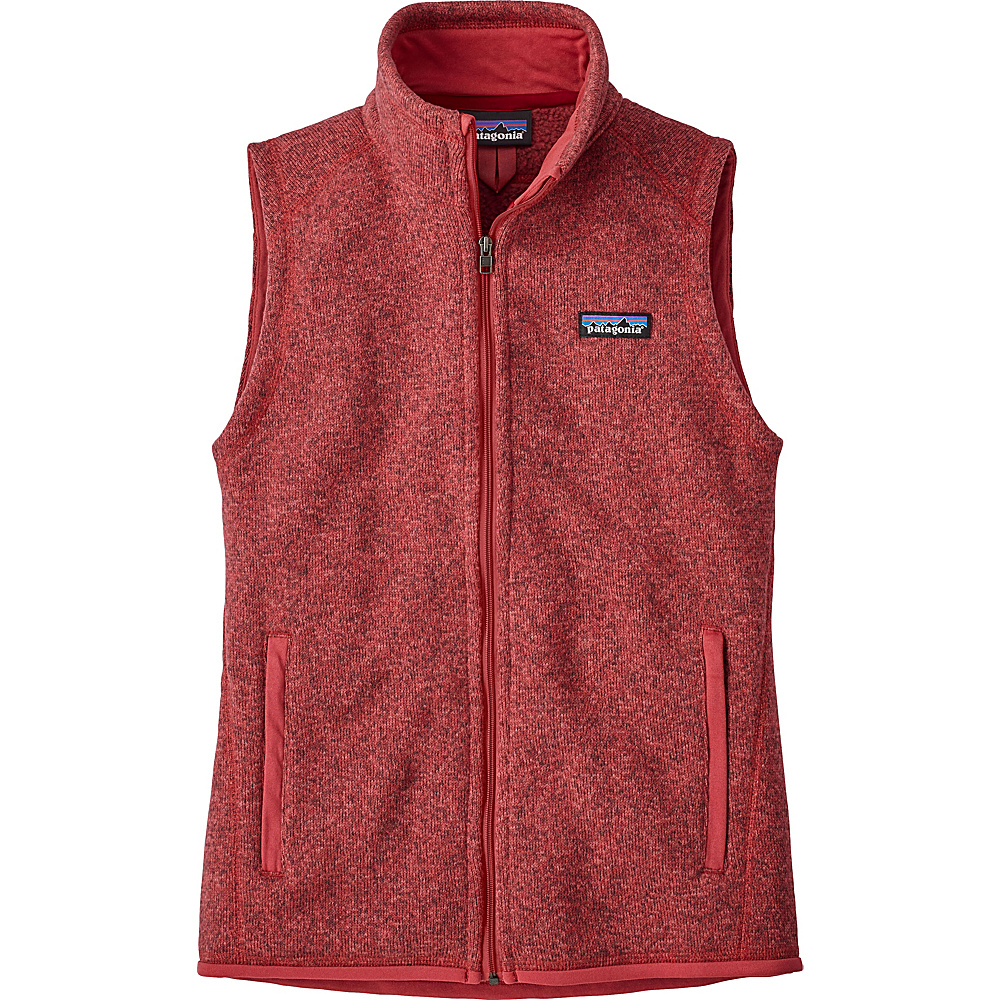Patagonia Womens Better Sweater Vest XS - Static Red - Patagonia Womens Apparel - Apparel & Footwear, Women's Apparel