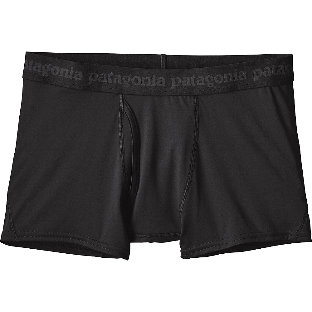 Patagonia Mens Capilene Daily Boxer Briefs XL - Black - Patagonia Mens Apparel - Apparel & Footwear, Men's Apparel