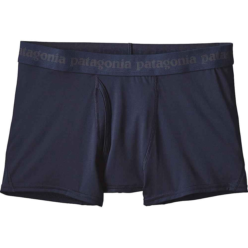 Patagonia Mens Capilene Daily Boxer Briefs 2XL - Navy Blue - Patagonia Mens Apparel - Apparel & Footwear, Men's Apparel