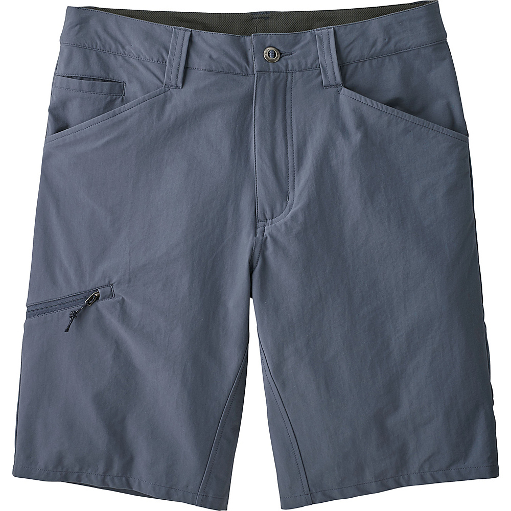 Patagonia Mens Quandary Shorts 40 - 12in - Dolomite Blue - Patagonia Mens Apparel - Apparel & Footwear, Men's Apparel