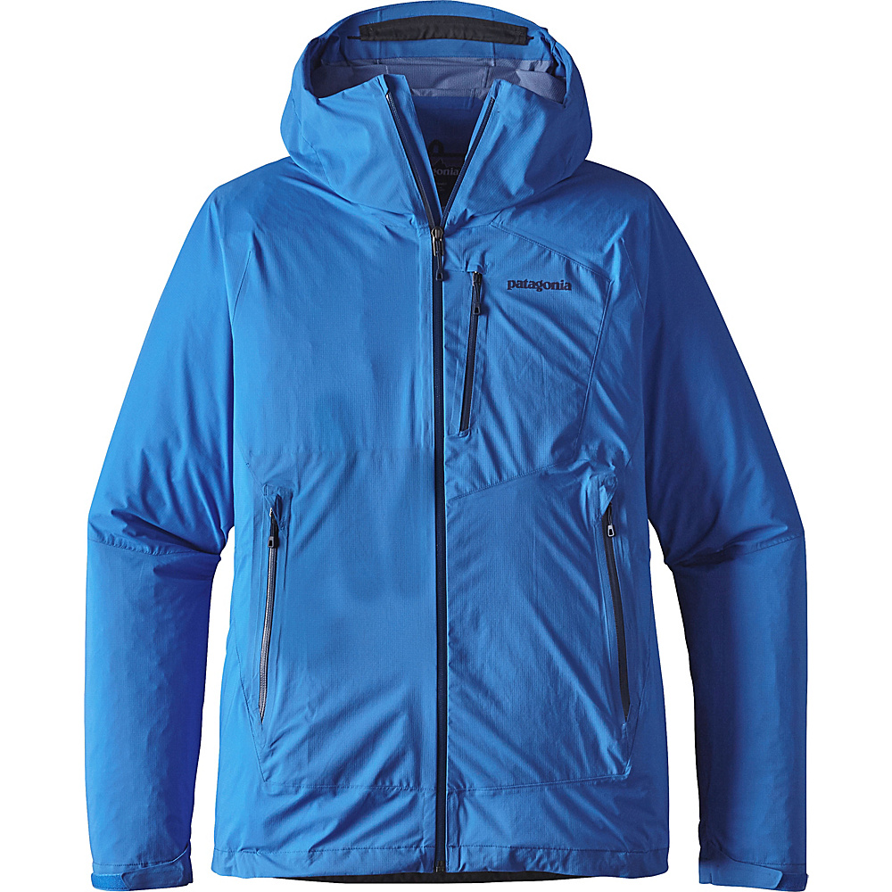 Patagonia Mens Stretch Rainshadow Jacket XS - Andes Blue - Patagonia Mens Apparel - Apparel & Footwear, Men's Apparel