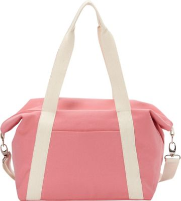 Rhombus Canvas A-Line Tote Flamingo Pink - Rhombus Canvas Fabric Handbags