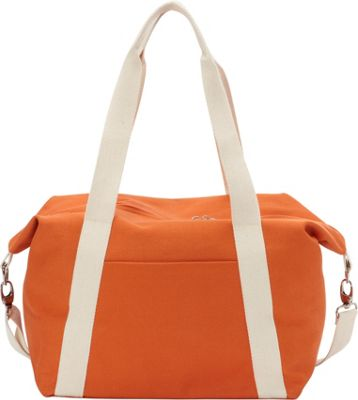 Rhombus Canvas A-Line Tote Flame - Rhombus Canvas Fabric Handbags