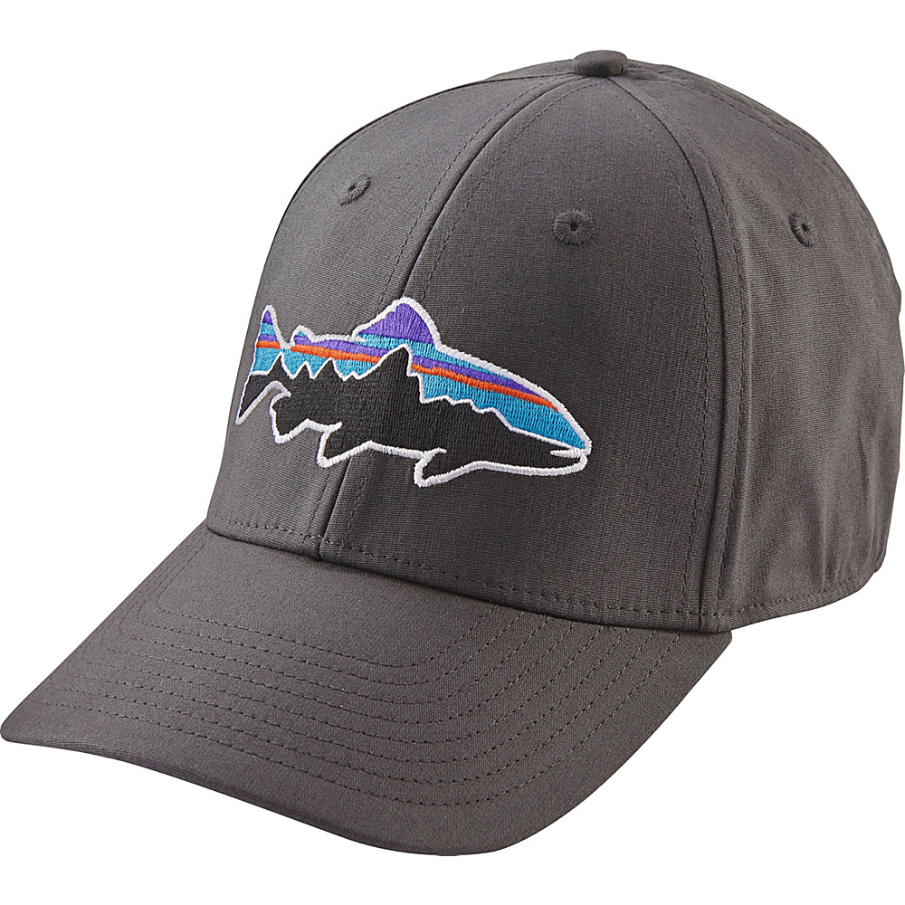 Patagonia Fitz Roy Trout Stretch Fit Hat S/M - Buffalo Green - Patagonia Hats/Gloves/Scarves - Fashion Accessories, Hats/Gloves/Scarves