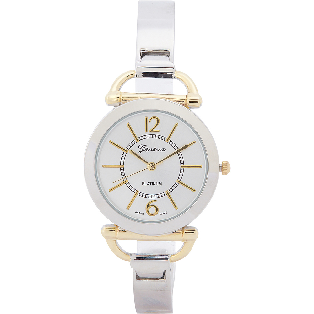 Samoe Two Tone Cuff Watch Two Tone Samoe Watches