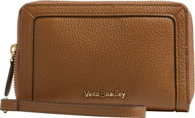 Vera Bradley RFID Grab & Go Wristlet-Retired Prints Cognac - Vera Bradley Women's Wallets