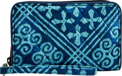 Vera Bradley RFID Grab & Go Wristlet-Retired Prints Cuban Tiles - Vera Bradley Women's Wallets
