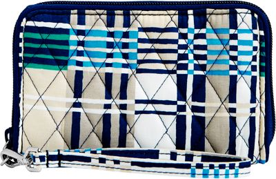 Vera Bradley RFID Grab & Go Wristlet-Retired Prints Santiago Woven - Vera Bradley Women's Wallets