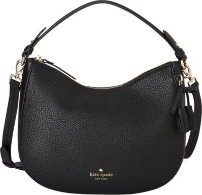 kate spade new york Hayes Street Small Aiden Crossbody Black - kate spade new york Designer Handbags