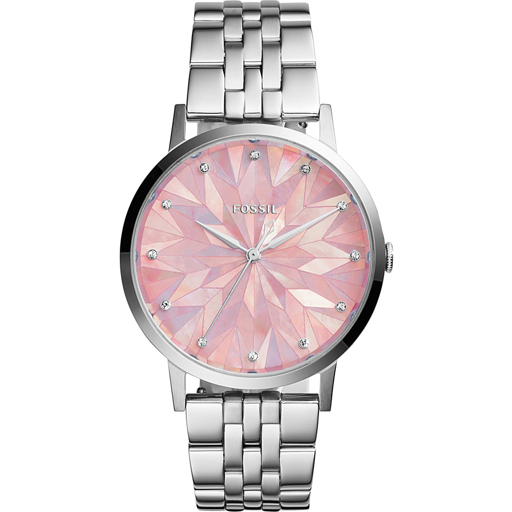 Fossil Vintage Muse 3-Hand Stainless Steel Watch Silver - Fossil Watches - Fashion Accessories, Watches