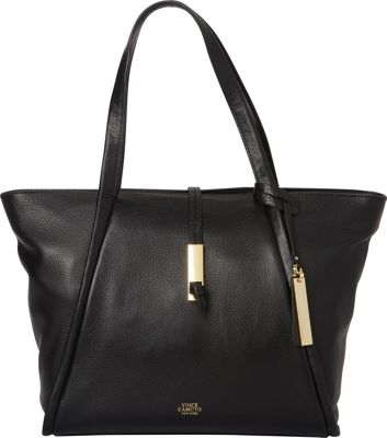Vince Camuto Reed Small Tote Black - Vince Camuto Designer Handbags