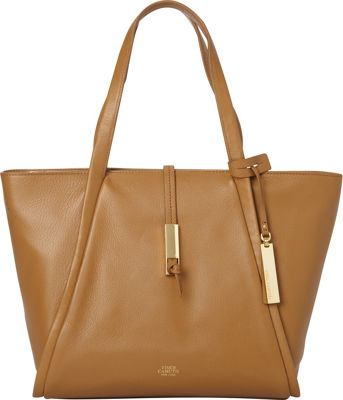 Vince Camuto Reed Small Tote Mocha - Vince Camuto Designer Handbags