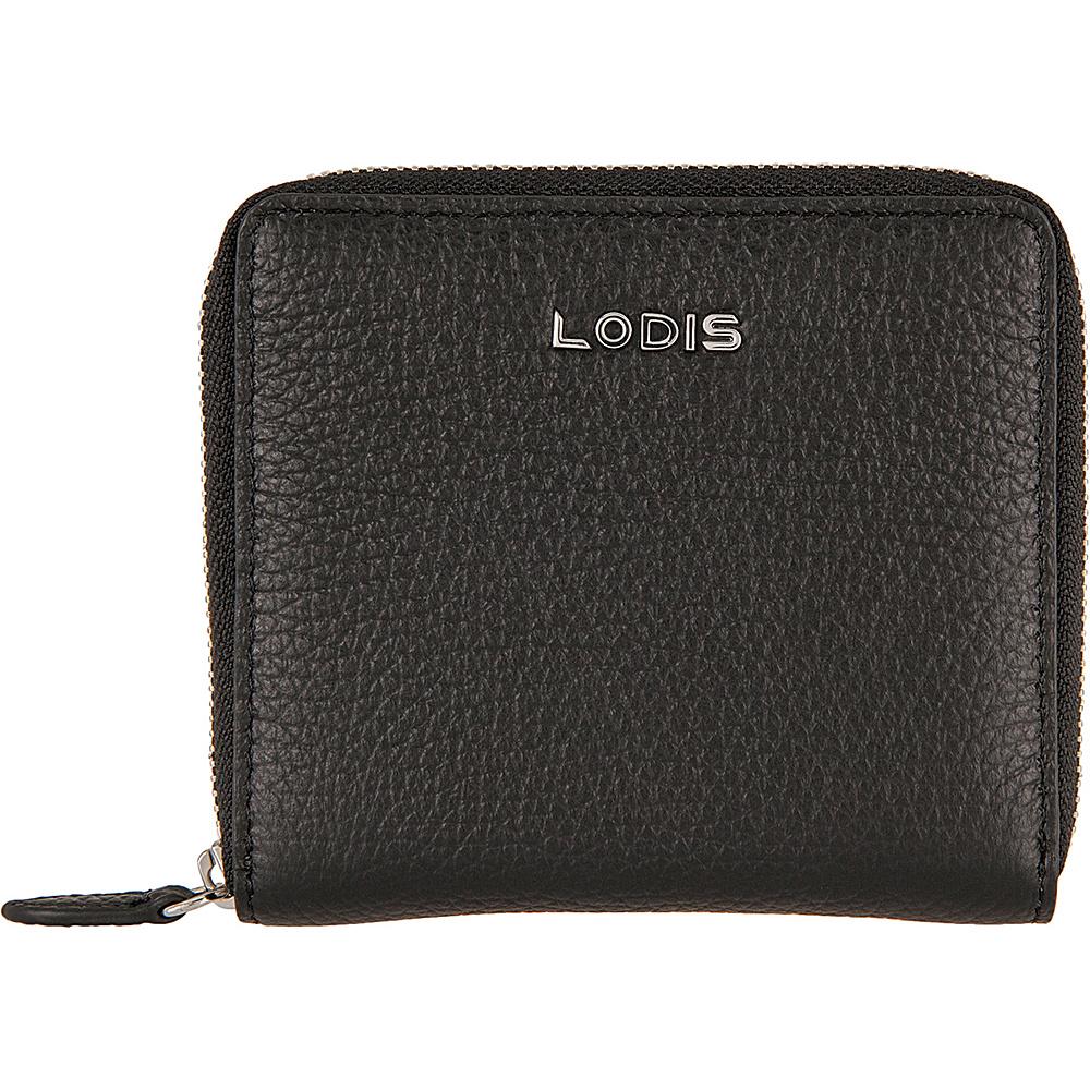 Lodis Valencia Amaya Zip French Wallet Black - Lodis Womens SLG Other - Women's SLG, Women's SLG Other