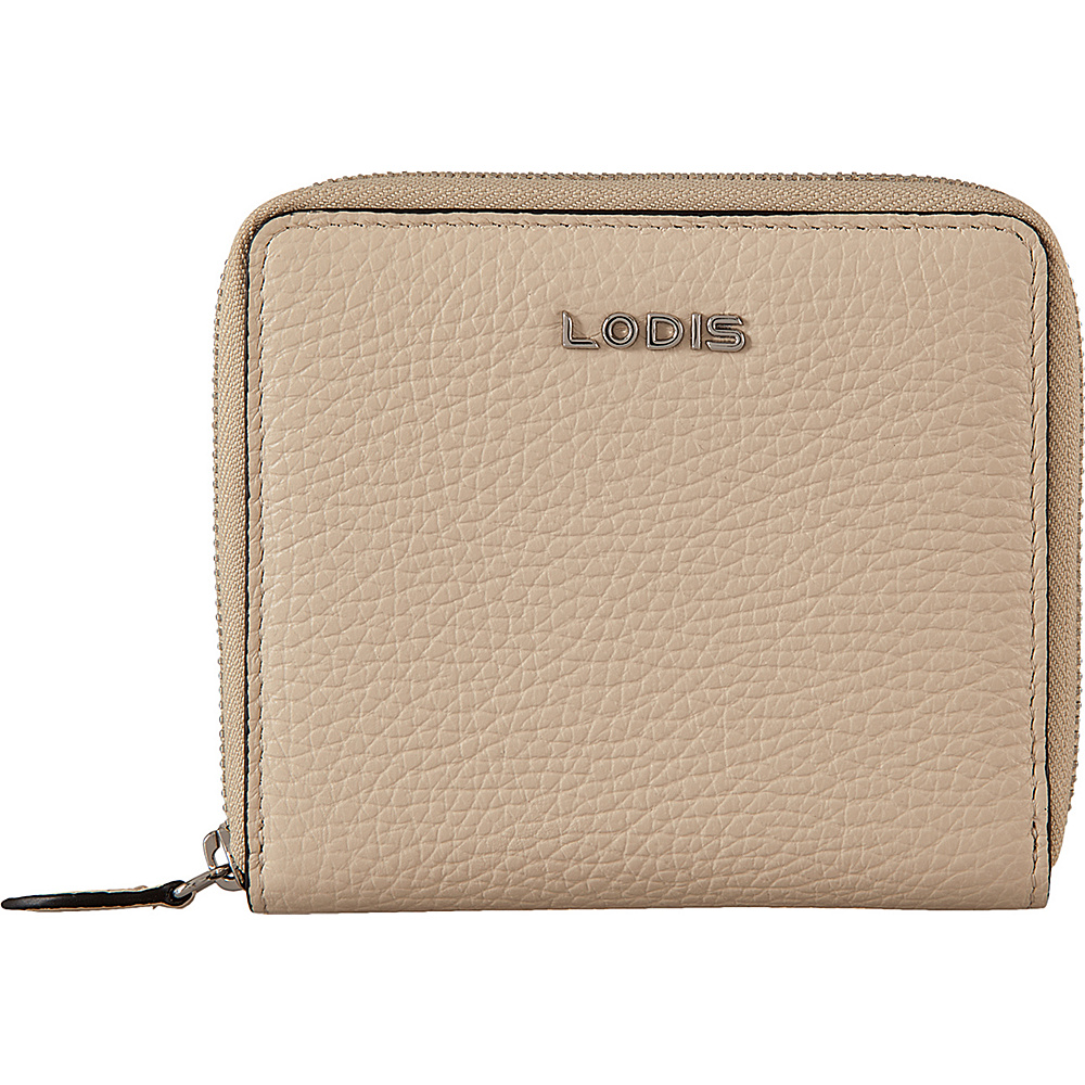 Lodis Valencia Amaya Zip French Wallet Cream - Lodis Womens SLG Other - Women's SLG, Women's SLG Other