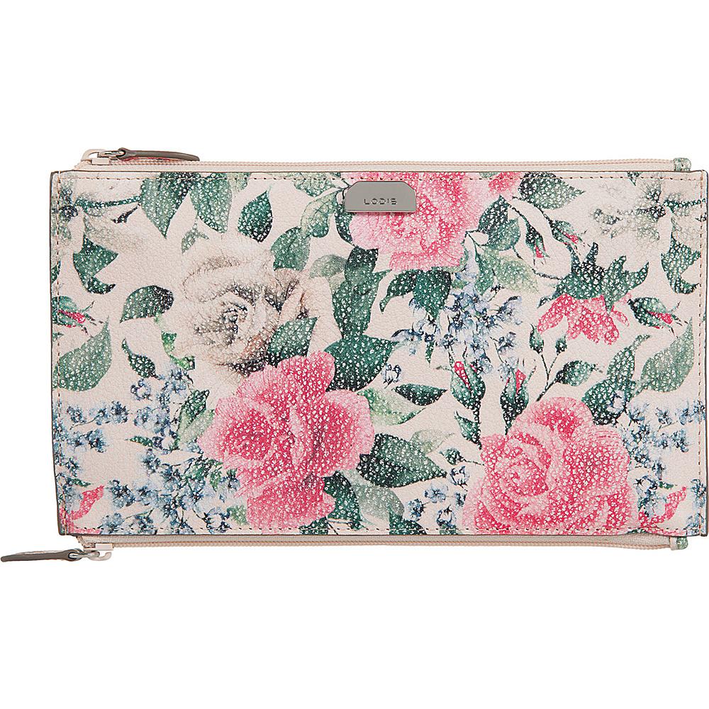 Lodis Bouquet Lani Double Zip Pouch Multi - Lodis Womens Wallets - Women's SLG, Women's Wallets
