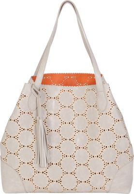 BUCO BUCO Grand Reversible Circle Tote Taupe/Orange - BUCO Manmade Handbags