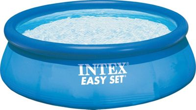 Intex 10' X 30 Easy Set Pool Blue - Intex Outdoor Accessories
