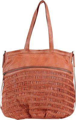 Day & Mood Alma Tote Peach - Day & Mood Leather Handbags
