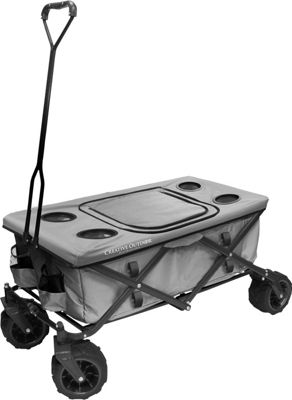 Creative Outdoor Fold Wagon All Terrain Table Grey - Creative Outdoor Outdoor Accessories
